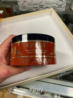 Vintage Yves Saint Laurent Opium Perfumed Dusting Body Powder (5.2 oz)