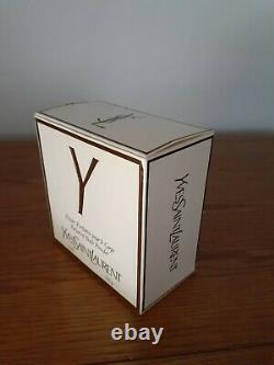 Vintage Yves Saint Laurent Paris Perfume Dusting Powder New In Box With Rare