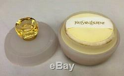 Vintage Yves Saint Laurent YSL Champagne Perfumed Dusting Powder 5.2 oz / 147g