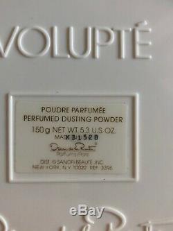 Volupte Oscar de la Renta Dusting Body Bath Powder 5.3oz New 90s RARE