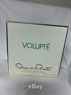 Volupte Perfumed Dusting Body Bath Powder 5.3. Oscar de la Renta Women's NIB New