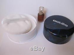 Vtg. 0.25 oz Estee Super Perfume Estee Lauder, Sealed Estee Body Dusting Powder