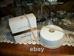 Vtg 2 Boxes Chanel No5 After Bath Perfumed Dusting Powder Near 1Lb Free Shipping
