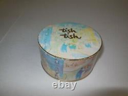 Vtg Cara Nome Tish Tish 4.5 oz Perfumed Dusting Powder Sealed CN-940 Unopened