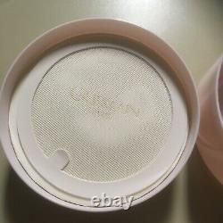 Vtg Guerlain Paris Shalimar Dusting Bath Powder/perfumed/ 4oz/pink/sealed Inside