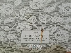 Vtg Houbigant Chantilly Gift Set Dusting Powder 3.0oz Perfume eau de toilette