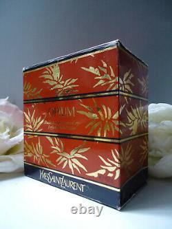 YSL OPIUM 150g Huge Rare Perfumed Dusting Body Powder Sealed Tub Near Mint Box