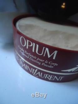 YSL OPIUM Perfumed Dusting Body Powder Huge 150g Beautiful Sealed Tub Potent New