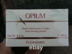 YSL OPIUM Perfumed Satin Dusting Powder 5. 2 Oz NIB in Cellowrap PERFECT
