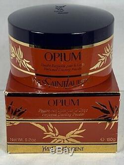 YSL Vintage Yves Saint Laurent Opium Perfumed Dusting Powder 5.2 oz