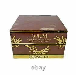 YSL Yves Saint Laurent OPIUM Perfumed Dusting Body Powder 5.2oz NEW SEALED