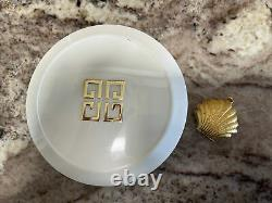 Ysatis de Givenchy Perfumed Dusting Powder Vintage Pre-owned & GOLD SHELL