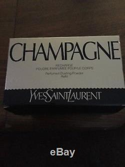 Yves Saint Laurent'Champagne' Perfumed Dusting Powder 5.2oz/150 g, New In BOX