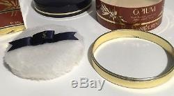 Yves Saint Laurent Opium Body Dusting Powder 5.2 oz 150ml YSL New In Box Vintage
