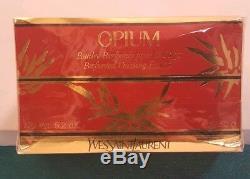 Yves Saint Laurent Opium Perfumed Dusting Powder 5.2 OZ. NEW SEALED