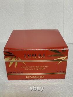 Yves Saint Laurent Opium Pressed Perfume Body Dusting Powder 5.2 oz Sealed! New